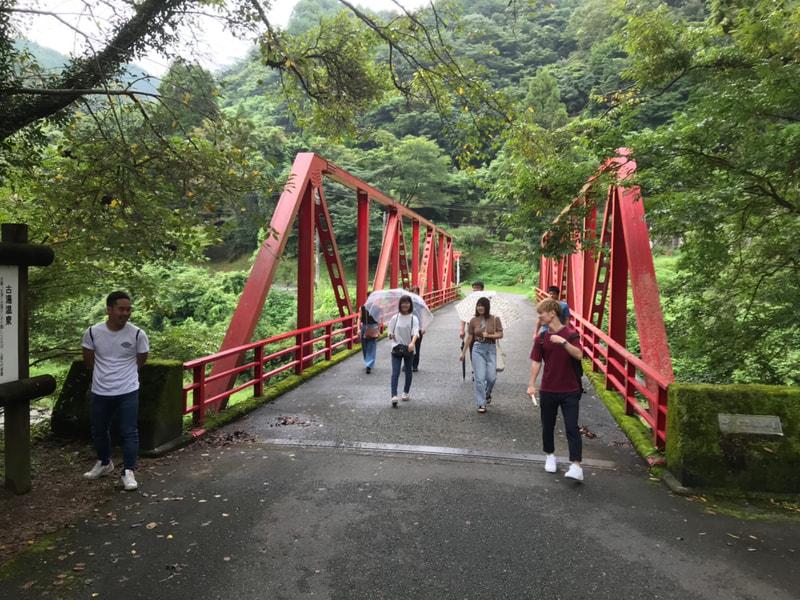佐賀大学の学生とスポーツイベント企画。まずは富士町でフィールドワーク