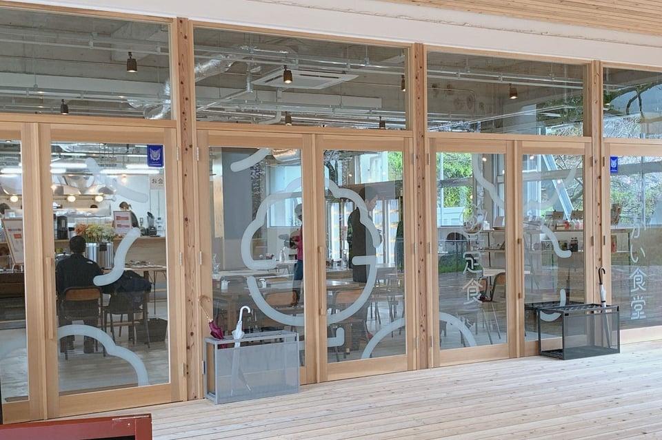 カフェゆっかい食堂外観
