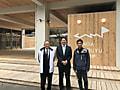 SFCにスポーツ庁鈴木大地長官が来訪されました!